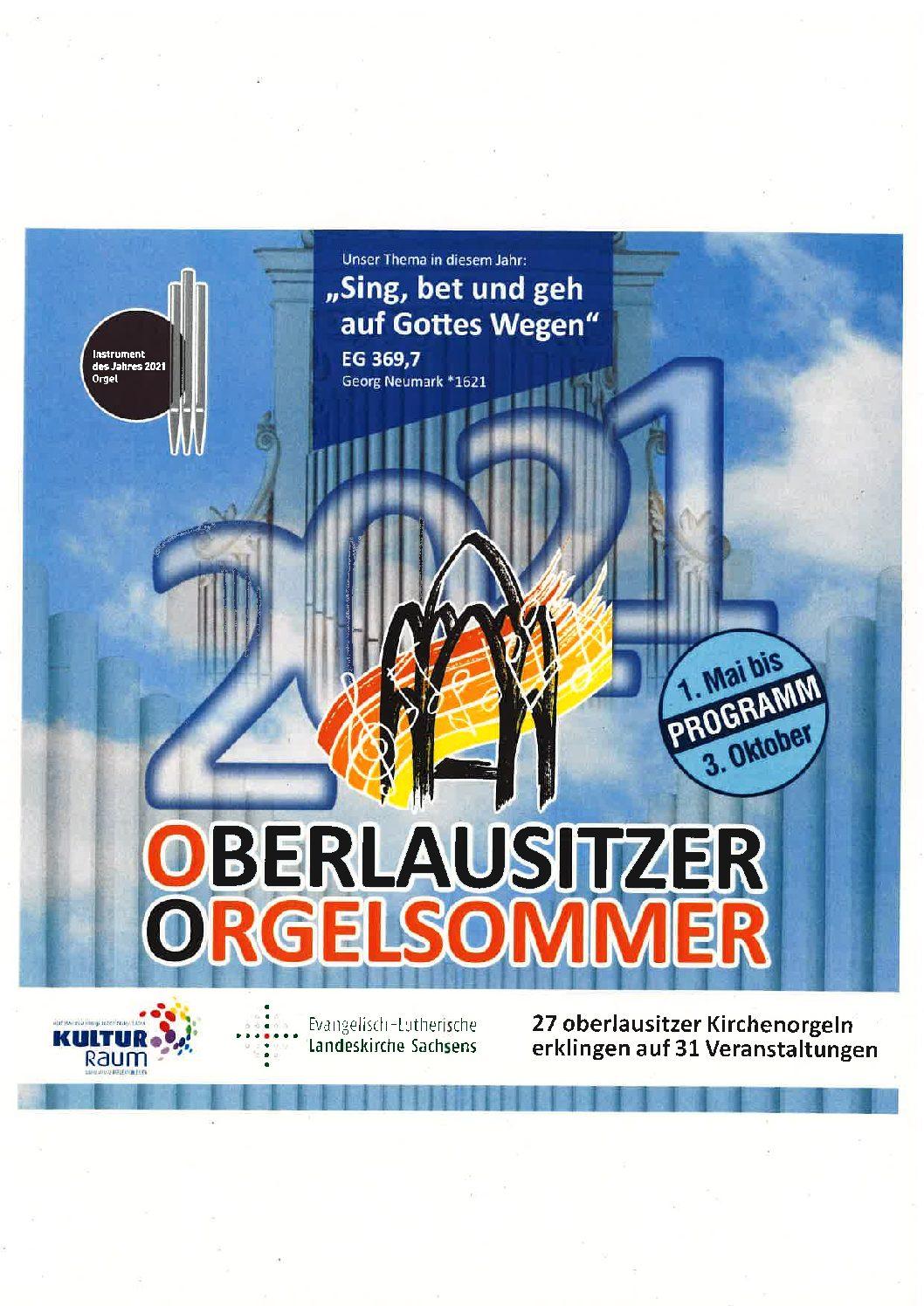 Oberlausitzer Orgelsommer 2021